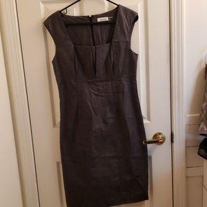 Women's Calvin Klein Gray Dress 8